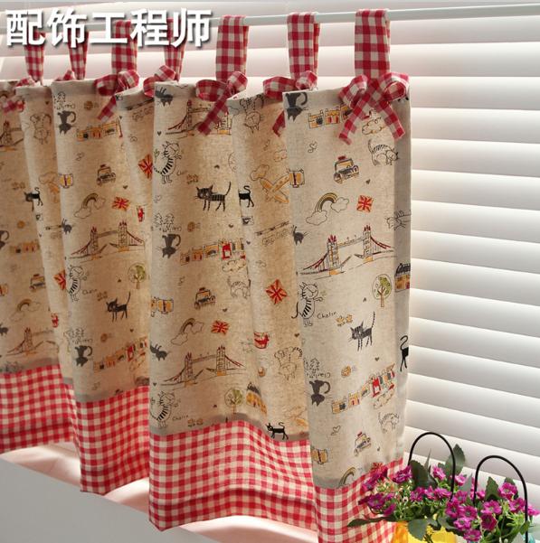 Своими руками из ткани шторы для дачи